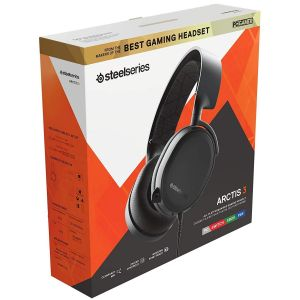 STEELSERIES - HEADSET ARCTIS 3 BLACK [2019] 61503 (PC, Mac, XBOX One, PS4, Mobile, VR)