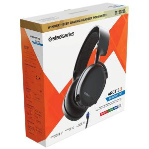STEELSERIES - HEADSET ARCTIS 3 Bluetooth BLACK [2019] 61509 (PC, Mac, PS4, XBOX One, Switch, VR, iOS, Android)