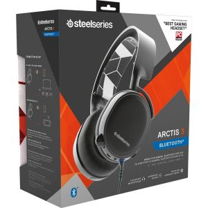 STEELSERIES - HEADSET ARCTIS 3 Bluetooth BLACK 61485 (PC, Mac, PS4, XBOX One, Switch, VR, iOS, Mobile)