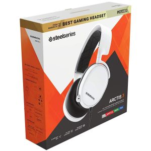 STEELSERIES - HEADSET ARCTIS 3 WHITE [2019] 61506 (PC, Mac, XBOX One, PS4, Mobile, VR)