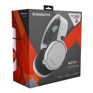 STEELSERIES - HEADSET ARCTIS 3 WHITE 61434 (PC, Mac, PS4, XBOX One, Switch, Mobile)