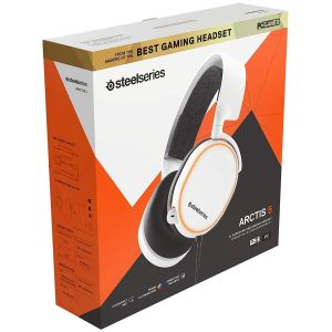 STEELSERIES - HEADSET ARCTIS 5 WHITE [2019] 61507 (PC, Mac, XBOX One, PS4, Mobile, VR)