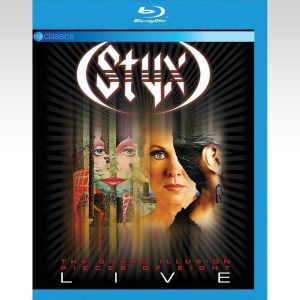 STYX: THE GRAND ILUSSION / PIECES OF EIGHT (BLU-RAY)