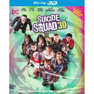 SUICIDE SQUAD 3D Extended - ΟΜΑΔΑ ΑΥΤΟΚΤΟΝΙΑΣ 3D Extended (BLU-RAY 3D + BLU-RAY)