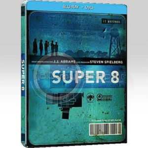 SUPER 8 Steelbook Combo (BLU-RAY + DVD)