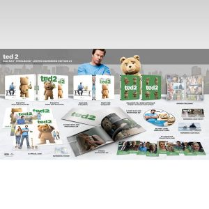 TED 2 Limited Collector's Numbered BONG Edition Steelbook + PHOTOBOOK (BLU-RAY + DVD)