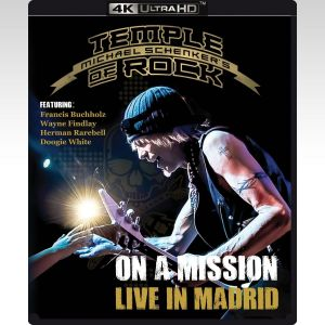TEMPLE MICHAEL SCHENKER'S OF ROCK: ON A MISSION - LIVE IN MADRID (4K UHD BLU-RAY)