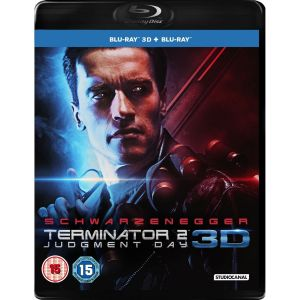 TERMINATOR 2: JUDGMENT DAY 3D+2D Remastered [ΧΩΡΙΣ ΕΛΛΗΝΙΚΟΥΣ ΥΠΟΤΙΤΛΟΥΣ] (BLU-RAY 3D + BLU-RAY)