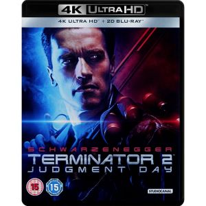 TERMINATOR 2: JUDGMENT DAY 4K+2D Remastered [ΧΩΡΙΣ ΕΛΛΗΝΙΚΟΥΣ ΥΠΟΤΙΤΛΟΥΣ] (4K UHD BLU-RAY + BLU-RAY 2D)