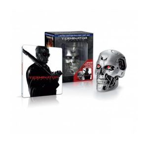 TERMINATOR 5: GENISYS 3D - ΕΞΟΛΟΘΡΕΥΤΗΣ 5: ΓΕΝΕSYS 3D Limited Collector's Gift Set Edition Steelbook + ENDO SKULL (BLU-RAY 3D + BLU-RAY)