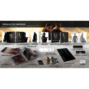 TERMINATOR 5: GENISYS 3D - ΕΞΟΛΟΘΡΕΥΤΗΣ 5: ΓΕΝΕSYS 3D Limited Collector's Numbered Edition Steelbook + PHOTOBOOK (BLU-RAY 3D + BLU-RAY)