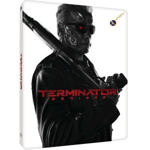 TERMINATOR 5: GENISYS 3D - ΕΞΟΛΟΘΡΕΥΤΗΣ 5: ΓΕΝΕSYS 3D Limited Edition Steelbook (BLU-RAY 3D + BLU-RAY)