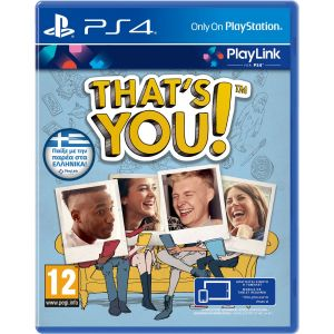 THAT'S YOU [ΕΛΛΗΝΙΚΟ] PlayLink (PS4)