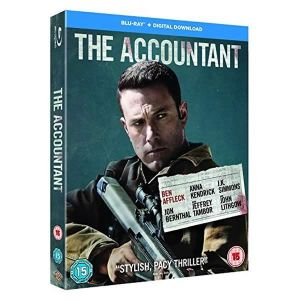 THE ACCOUNTANT Slipcover (BLU-RAY)