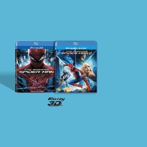 THE AMAZING SPIDER-MAN 1, 2 3D BUNDLE (2 BLU-RAY 3D + 2 BLU-RAY)