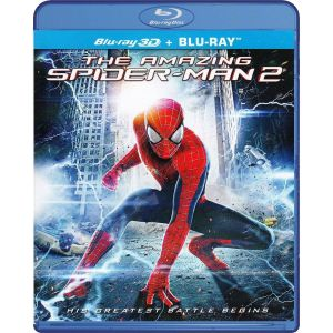 THE AMAZING SPIDER-MAN 2 3D [4K MASTERED] (BLU-RAY 3D + BLU-RAY)