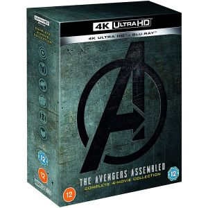 THE AVENGERS 1-4 MOVIE COLLECTION BOX-SET 4K+2D [Imported] (4K UHD BLU-RAY + BLU-RAY)