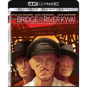 THE BRIDGE ON THE RIVER KWAI 4K+2D - Η ΓΕΦΥΡΑ ΤΟΥ ΠΟΤΑΜΟΥ ΚΒΑΙ 4K+2D (4K UHD BLU-RAY + BLU-RAY 2D)