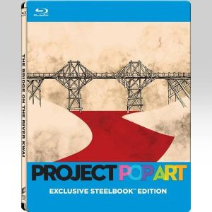 THE BRIDGE ON THE RIVER KWAI Pop Art Limited Edition Steelbook (BLU-RAY)