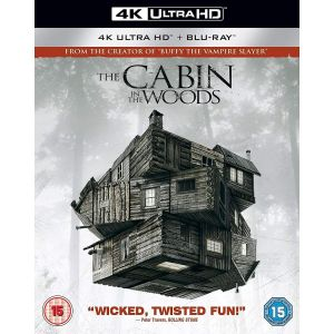 THE CABIN IN THE WOODS 4K+2D [Imported] (4K UHD BLU-RAY + BLU-RAY)
