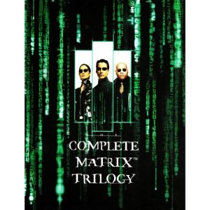 THE COMPLETE MATRIX TRILOGY Slipcover EXCLUSIVE (3 BLU-RAYs)