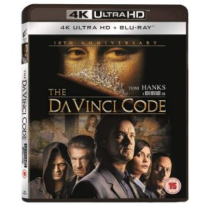 THE DA VINCI CODE - ΚΩΔΙΚΑΣ ΝΤΑ ΒΙΝΤΣΙ [4K MASTERED] 10th Anniversary (4K UHD BLU-RAY + BLU-RAY)