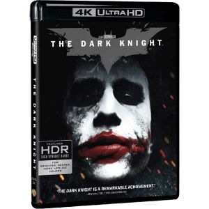 THE DARK KNIGHT (4K UHD BLU-RAY + BLU-RAY 2D + BLU-RAY BONUS)