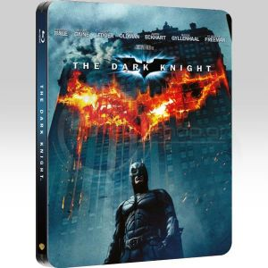 THE DARK KNIGHT Limited Collector's Edition Steelbook [Imported] (BLU-RAY)