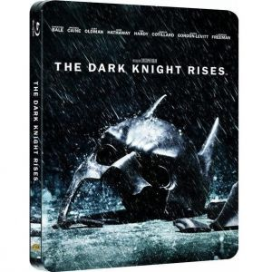 THE DARK KNIGHT RISES Steelbook EXCLUSIVE [Imported] (2 BLU-RAYs)