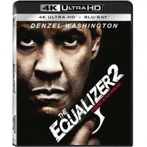 THE EQUALIZER 2 4K+2D (4K UHD BLU-RAY + BLU-RAY 2D)