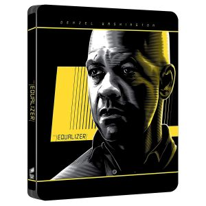 THE EQUALIZER 4K+2D Limited Edition Steelbook [Εισαγωγής ΜΕ ΕΛΛΗΝΙΚΟΥΣ ΥΠΟΤΙΤΛΟΥΣ] (4K UHD BLU-RAY + BLU-RAY 2D)