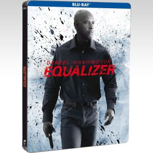 THE EQUALIZER Limited Collector's Numbered Edition Steelbook + 8x PHOTO CARDS + OWNER NUMBERED CARD [Imported] (BLU-RAY)