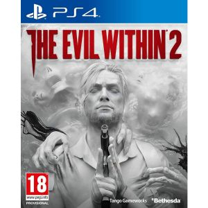 THE EVIL WITHIN 2 + DAY 1 PreORDER BONUS The Last Chance Pack + Metal Poster + Pin Badge Set (PS4)