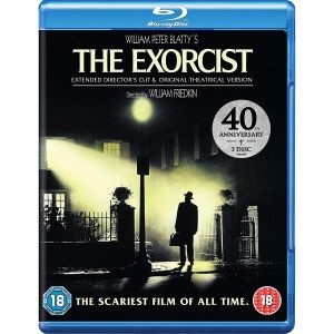 THE EXORCIST EXTENDED DIRECTOR'S CUT - Ο ΕΞΟΡΚΙΣΤΗΣ EXTENDED DIRECTOR'S CUT 40th Anniversary Edition [Εισαγωγής ΜΕ ΕΛΛΗΝΙΚΟΥΣ ΥΠΟΤΙΤΛΟΥΣ] (3 BLU-RAY)