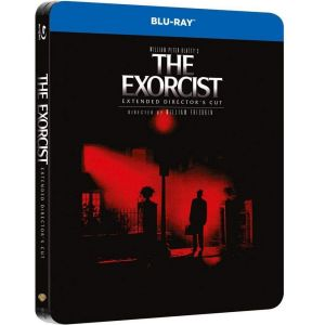 THE EXORCIST Extended Director's Cut - Ο ΕΞΟΡΚΙΣΤΗΣ Extended Director's Cut Limited Edition Steelbook [ΜΕ ΕΛΛΗΝΙΚΟΥΣ ΥΠΟΤΙΤΛΟΥΣ ΣΤΗΝ ΕΚΔΟΣΗ EXTENDED] (BLU-RAY)