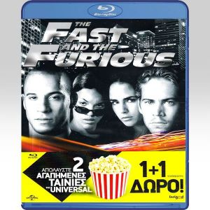 THE FAST AND THE FURIOUS / 2 FAST 2 FURIOUS Double Pack (2 BLU-RAYs)