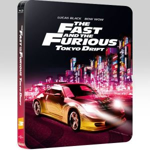 THE FAST AND THE FURIOUS 3: TOKYO DRIFT Limited Collector's Edition Steelbook [Imported] (BLU-RAY)