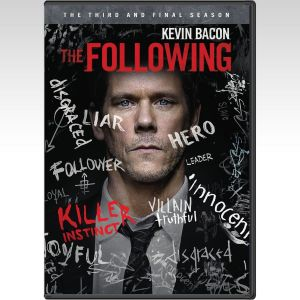 THE FOLLOWING: THE COMPLETE 3rd SEASON - THE FOLLOWING: 3η ΠΕΡΙΟΔΟΣ (4 DVDs)