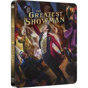 THE GREATEST SHOWMAN Limited Edition Steelbook (BLU-RAY) + ΔΩΡΟ ΠΡΟΣΤΑΤΕΥΤΙΚΗ ΘΗΚΗ Steelbook