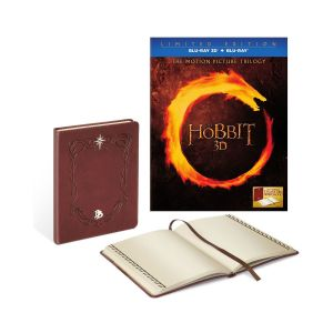 THE HOBBIT 3D: THE MOTION PICTURE TRILOGY + BILBO'S JOURNAL Limited Collector's Edition (6 BLU-RAY 3D + 6 BLU-RAY)