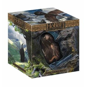 THE HOBBIT: AN UNEXPECTED JOURNEY 3D Extended - THE HOBBIT: ΕΝΑ ΑΝΑΠΑΝΤΕΧΟ ΤΑΞΙΔΙ 3D Extended + RIDDLES IN THE DARK FIGURE Limited Collector's Edition [Εισαγωγής ΜΕ ΕΛΛΗΝΙΚΟΥΣ ΥΠΟΤΙΤΛΟΥΣ] (2 BLU-RAY 3D + 3 BLU-RAY)