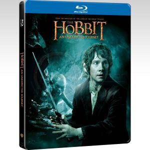 THE HOBBIT: AN UNEXPECTED JOURNEY Limited Collector's Edition Steelbook [Imported] (2 BLU-RAYs)