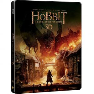 THE HOBBIT: THE BATTLE OF THE FIVE ARMIES 3D - ΧΟΜΠΙΤ: Η ΜΑΧΗ ΤΩΝ ΠΕΝΤΕ ΣΤΡΑΤΩΝ 3D Limited Collector's Edition Steelbook (2 BLU-RAY 3D + 2 BLU-RAY)