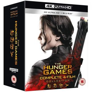 THE HUNGER GAMES 4K+2D Complete 1-4 Film Collection [ΜΕ ΑΓΓΛΙΚΟΥΣ ΥΠΟΤΙΤΛΟΥΣ] (4K UHD BLU-RAY + BLU-RAY)