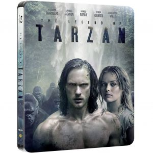 THE LEGEND OF TARZAN Limited Edition Steelbook (BLU-RAY)