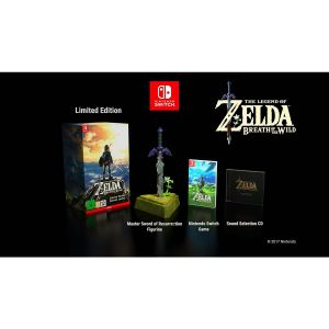 THE LEGEND OF ZELDA: BREATH OF THE WILD - LIMITED EDITION (NSW)