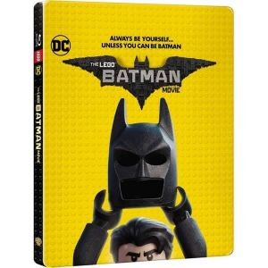 THE LEGO BATMAN MOVIE 3D Limited Edition Steelbook [Imported] (BLU-RAY 3D + BLU-RAY)