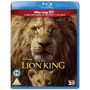 THE LION KING [2019] 3D+2D [Imported] (BLU-RAY 3D + BLU-RAY 2D)