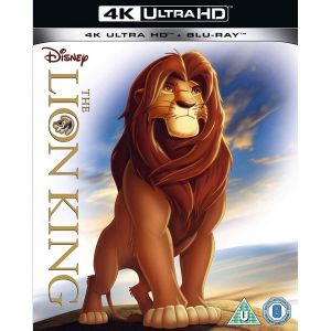 THE LION KING 4K+2D [Import] (4K UHD BLU-RAY + BLU-RAY)
