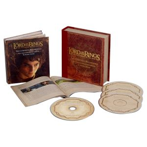 THE LORD OF THE RINGS: THE FELLOWSHIP OF THE RINGS - The Complete Recordings Soundtrack BOX SET (BLU-RAY AUDIO + 3 AUDIO CD)